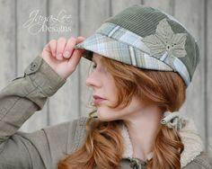 Corduroy Cap Ivy Plaid Hat