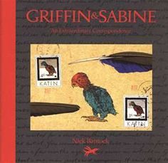"""""""Griffin & Sabine"""" books by Nick Bantock"""