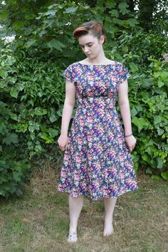 My Oh Sew Vintage Life: I present to you - Anna dress, By Hand London dressmak inspir, hand london, anna dress