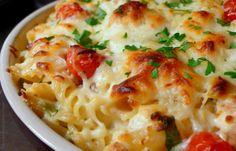 chicken, dinner, food, spinach pasta, yummi