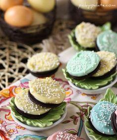 chocolate-dipped oreos