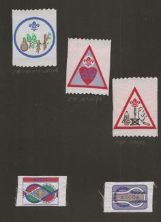 Gambia Scout Association badges- the ACCA badge is to do with Catholic Scouting in Africa- eBay