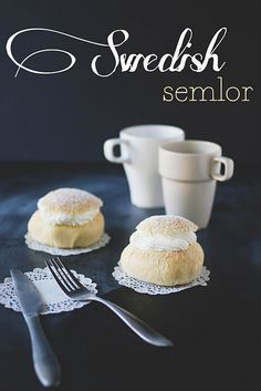 Swedish Semlor recipe