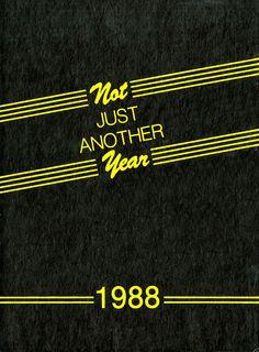 1988 Desert, University of Arizona Yearbook