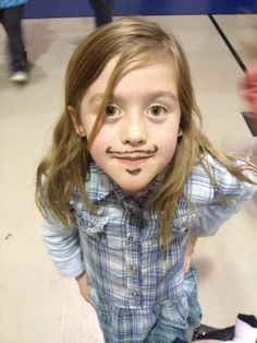 Kids+Mustaches=Awesome.
