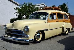 Chevrolet woodie station wagon