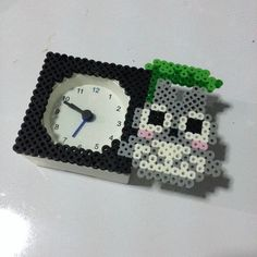 Totoro bead sprites hama perler by strepie93 on deviantart