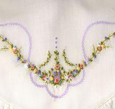 bullion stitch, heirloom sew