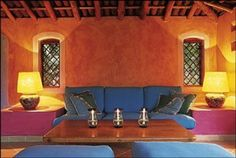 Casas mexicanas on pinterest mexican hacienda for Decoracion colonial mexicana