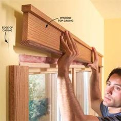 how to install craftsman style window trim (mine would all be painted white of course...)