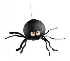 Spooky Spider Pinata - #Halloween #DIY Crafts