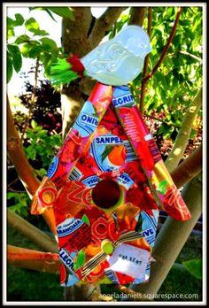 Tutorial: soda can birdhouse #garden #lawn #yard #outdoors #diy #crafts #recycle #reuse #repurpose