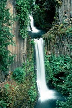 Toketee Falls, Toketee OR   © Marsha K. Russell