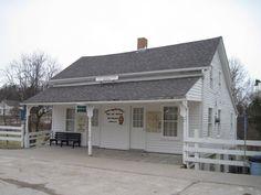 Laura Ingalls Wilder Museum in Iowa.