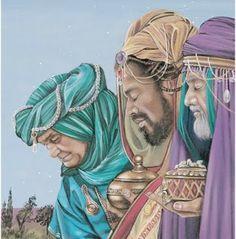 christma joy, three wisemen, bibl art, navidad, epiphani, christma time, wise men, nativ, three king