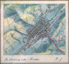#EduardImhof: cartography