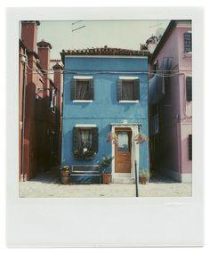 Blue house, Burano, Italy