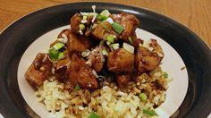 Recipe: Skinny Orange Chicken using veggies from CSA basket
