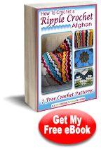 How To Crochet a Ripple Crochet Afghan: 7 Free Crochet Patterns