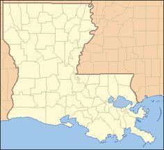 Parishes in Louisiana