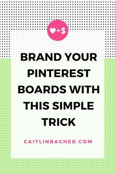 Brand Your Pinterest