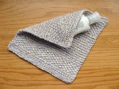 Road to Grinnell: Seeded Stripe Dishcloth