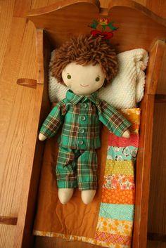 free sewing pattern for doll pajamas pjs