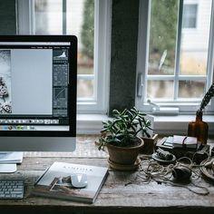 work place, desk, workspac
