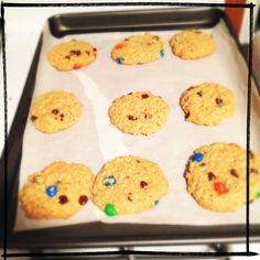 Monster cookies. I really should make these again, when I need to feed a crowd.