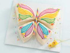 butterfli, little girls, little girl birthday, ladybug cakes, birthday parties, girl birthday cakes, candy canes, summer cakes, cake recipes