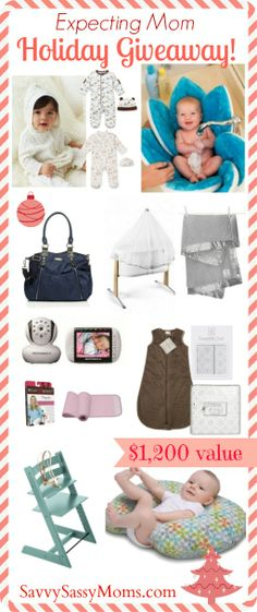 Expecting Mom Holiday Wish List & Ultimate Giveaway!