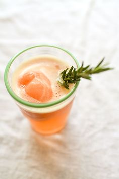 Kick off happy hour with a Blood Orange Sorbet Gin Float.
