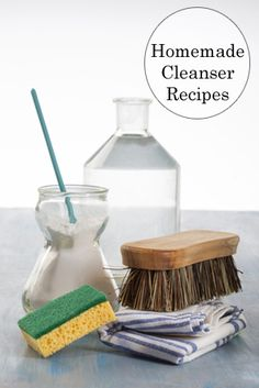 Homemade Goo Gone - Home Soft Scrub Cleanser - Hand Washing Dish Soap - Bathroom Grout Cleaner - All Purpose Cleaner - Garbage Disposal Cleaner - Furniture Polish