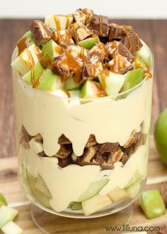 Apple Snickers Salad - seriously so good!!