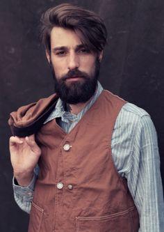 hair. beard.