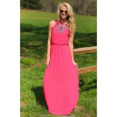 Keep You Guessing Maxi-Strawberry - $39.00