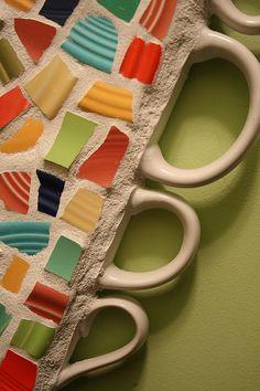 cup handels in mosaic