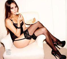 #JessicaMichibata Esquire UK March 2013