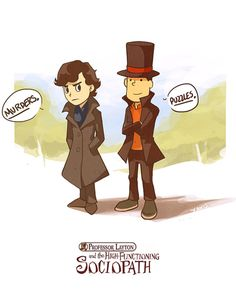 Love the Professor Layton games.  And this is funny!