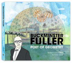 buckminst fuller, books, buckminster fuller, cole gerst, geometri book, fuller buckminst, cole art, artwork, book cover