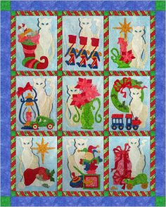 2013: Snowy Noel Quilt BOM from Peck's Pieces