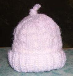 Image of So-Soft Preemie Hat crochet hat, sosoft preemi, hat crochet, hat patterns, babi hat, baby hats, angel babi, crochet patterns, preemi hat