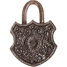 Silver Antique Pad Lock