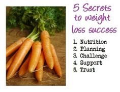 5 Secrets to Weight Loss Success (pic) &  The 8 best weight loss tips (Link)