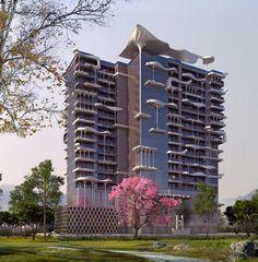 Heliopolis: a neo-Gaudi Mumbai apartment {Planet 3 Studios}
