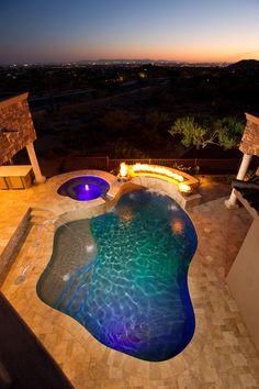 pool idea, swimming pools, swim pool, pool time, creativ pool