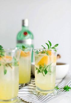 Gin Punch recipe via