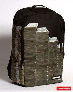 The Money Stacks Backpack....love it!!