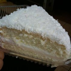 Haupia Cake (Hawaiian coconut cake) ~ I could use a little Hawaii right about now.