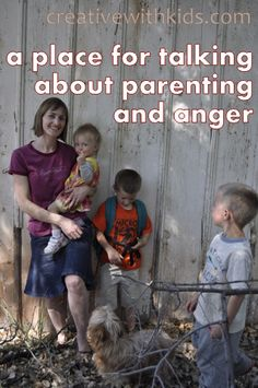We need to be able to talk about parenting and anger in order to be the kind of calm parent we want to be.